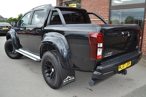 D-Max Arctic Trucks AT35 Double Cab 4x4 Pick Up Black Pack and NO VAT To Pay 1.9 4dr Pickup Automatic Diesel
