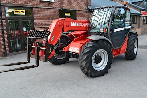 Maniscopic MT 732 Telehandler 2100 Hours 4.4 Telehandler Manual Diesel