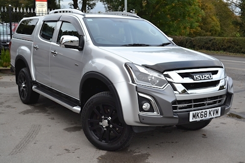 Isuzu D-Max Utah Double Cab 4x4 Pick Up High Spec 8k Options Euro 6