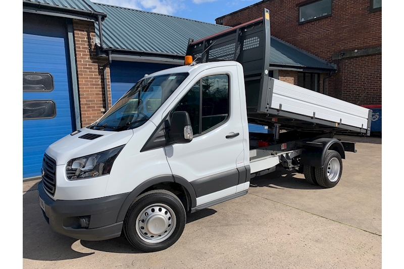 Transit 350 L2 130ps Euro 6 Single Cab Tipper Twin Rear Wheel DRW 2.0 Tipper Manual Diesel