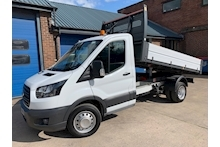 Ford Transit 350 L2 130ps Euro 6 Single Cab Tipper Twin Rear Wheel DRW 2.0 - Thumb 0