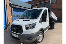 Ford Transit 350 L2 130ps Euro 6 Single Cab Tipper Twin Rear Wheel DRW 2.0 - Thumb 2
