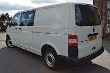 Volkswagen Transporter T32 Tdi Kombi LWB 102ps Startline 6 Seater Side Windows Tailgate No Vat 2.0 - Thumb 1