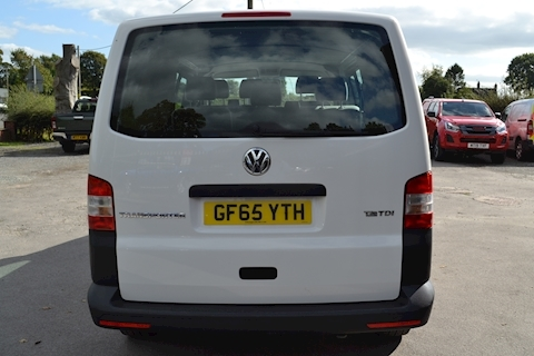 Transporter T32 Tdi Kombi LWB 102ps Startline 6 Seater Side Windows Tailgate No Vat 2.0 Combi Van Manual Diesel