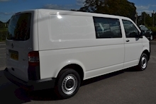 Volkswagen Transporter T32 Tdi Kombi LWB 102ps Startline 6 Seater Side Windows Tailgate No Vat 2.0 - Thumb 3