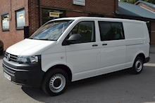 Volkswagen Transporter T32 Tdi Kombi LWB 102ps Startline 6 Seater Side Windows Tailgate No Vat 2.0 - Thumb 5