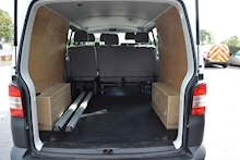 Volkswagen Transporter T32 Tdi Kombi LWB 102ps Startline 6 Seater Side Windows Tailgate No Vat 2.0 - Thumb 6