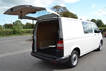 Volkswagen Transporter T32 Tdi Kombi LWB 102ps Startline 6 Seater Side Windows Tailgate No Vat 2.0 - Thumb 7