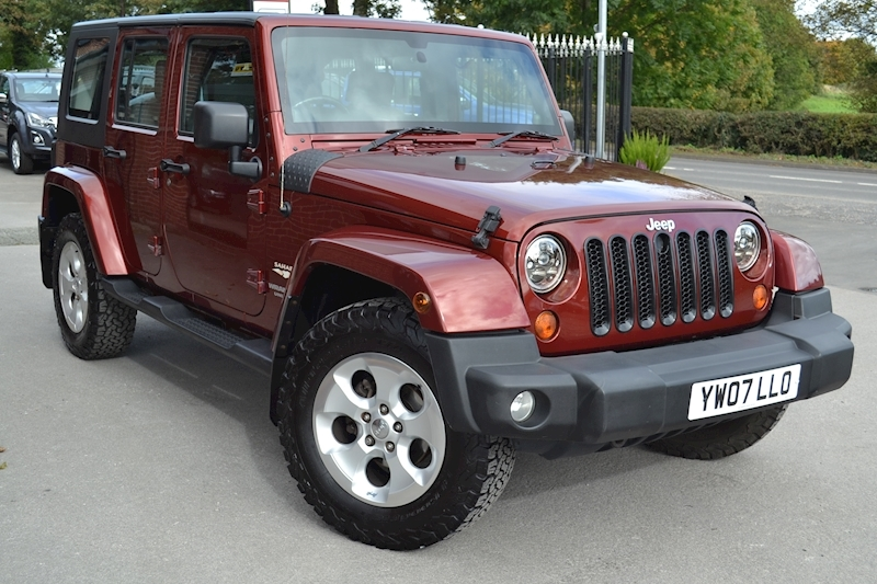 Wrangler Unlimited Sahara Removable Hardtop 2.8 4dr SUV Manual Diesel