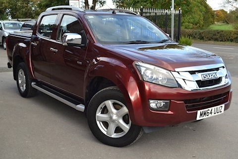 Isuzu D-Max Utah Vision Twin Turbo Double Cab 4x4 Pick Up