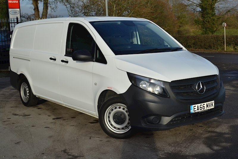 Vito 114 Cdi 136 Bluetec Long Euro 6 7G-Tronic Auto 2.1 Panel Van Manual Diesel