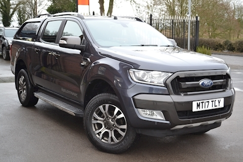 Ford Ranger Wildtrak 200 Tdci Double Cab 4x4 Pick Up Fitted Truckman Canopy