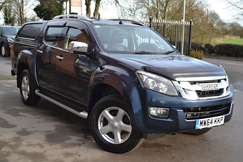 Isuzu D-Max Utah Vision Twin Turbo Double Cab 4x4 Pick Up Fitted Solid Sided Canopy