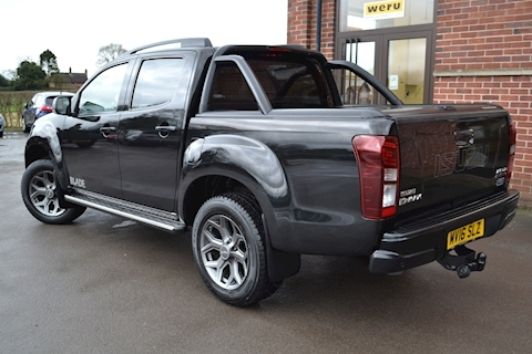 D-Max Blade Double Cab 4x4 Pick Up Fitted Roller Lid And Style Bar NO VAT TO PAY 2.5 4dr Pickup Manual Diesel