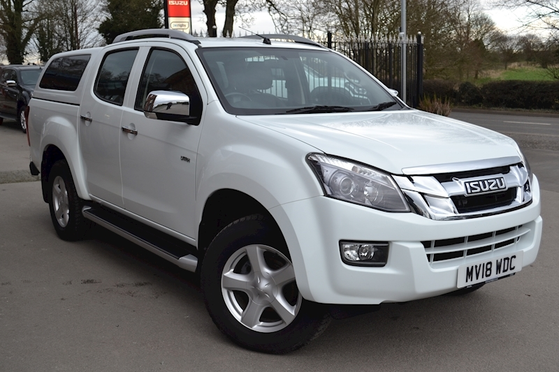 D-Max Utah Vision Double Cab 4x4 Pick Up Fitted Glazed Canopy 2.5 4dr Double Cab Automatic Diesel