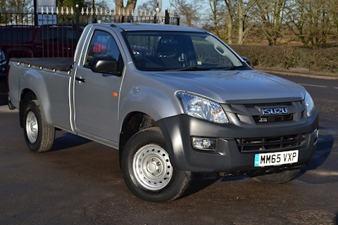 Isuzu D-Max Single Cab 4x4 Sat Nav Pick Up NO VAT