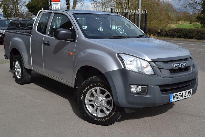D-Max Extended Cab Twin Turbo 4x4 Pick Up NO VAT 2.5 4dr Pickup Manual Diesel
