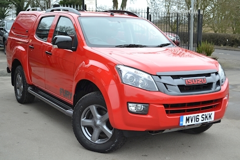 Isuzu D-max Fury Double Cab 4x4 Pick Up Fitted Gullwing Canopy