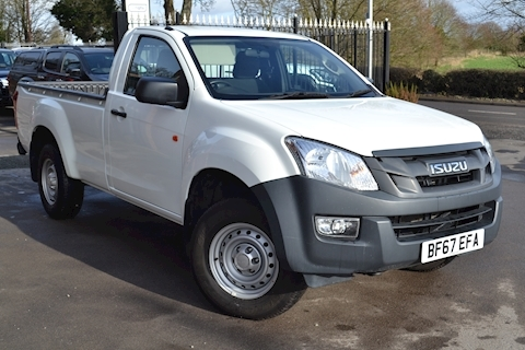 Isuzu D-Max Single Cab 4x4 Pick Up Twin Turbo