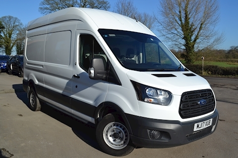 Ford Transit 350 L3 H3 130ps Euro 6 LWB High Roof RWD Air Con