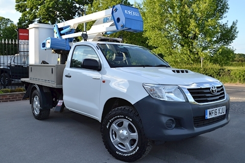 Toyota Hilux Active 4x4 D-4D 13.5 Mtr CPL MEWP Cherry Picker