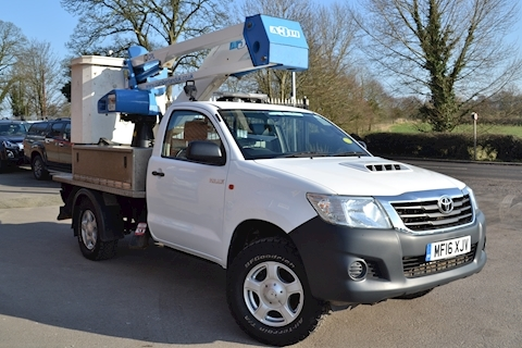 Toyota Hilux Active 4x4 D-4D 13.2 Mtr Cherry Picker CPL MEWP