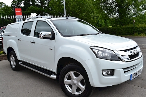 Isuzu D-Max Utah Vision Double Cab 4x4 Pick Up Fitted Canopy