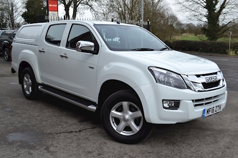 Isuzu D-Max Yukon Vision Double Cab 4x4 Pick Up Fitted Canopy