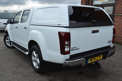 D-Max Yukon Vision Double Cab 4x4 Pick Up Fitted Canopy 2.5 4dr Pickup Automatic Diesel