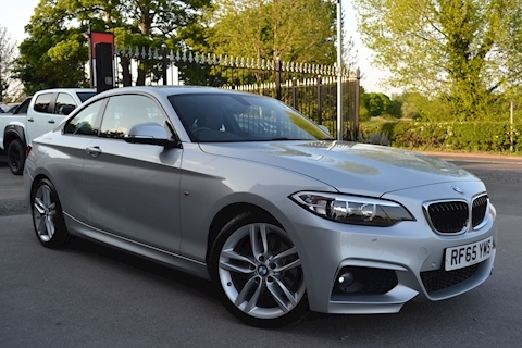 BMW 2 Series 220d M Sport Coupe 190ps Step Auto