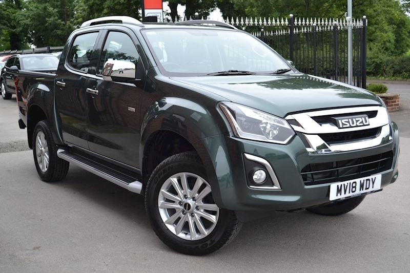 D-Max Utah Double Cab 4x4 Pick Up Fitted Pedders Suspension Euro 6 1.9 4dr Pick-Up Manual Diesel