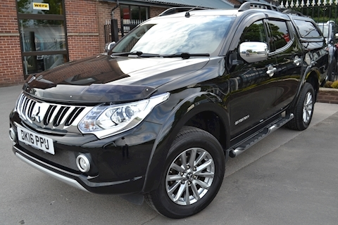 L200 Barbarian 180ps DI-D Double Cab 4x4 Pick Up Fitted Glazed Canopy 2.4 4dr Pickup Manual Diesel
