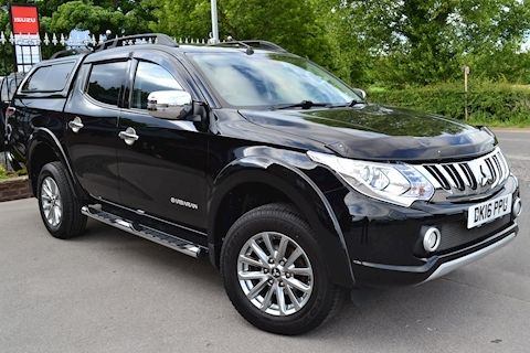 Mitsubishi L200 Barbarian 180ps DI-D Double Cab 4x4 Pick Up Fitted Glazed Canopy