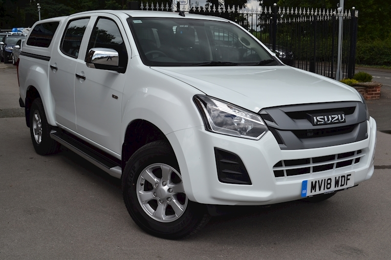 D-Max Eiger Double Cab 4x4 Pick Up with Glazed Canopy 1.9 4dr Pickup Manual Diesel
