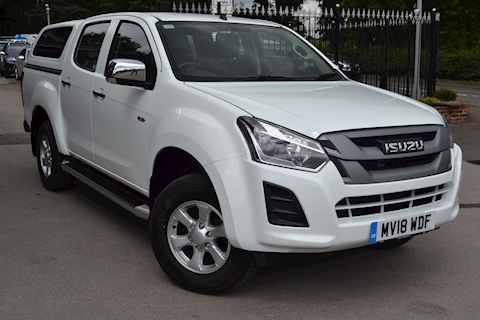 Isuzu D-Max Eiger Double Cab 4x4 Pick Up with Glazed Canopy