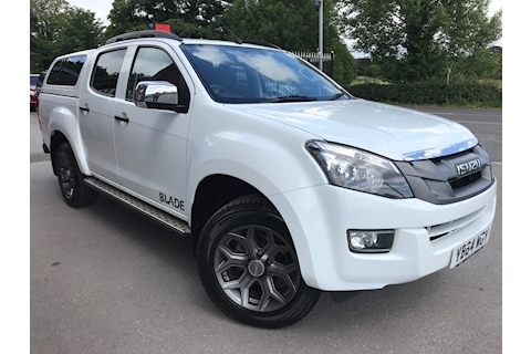 Isuzu D-Max Blade Double Cab 4x4 Pick Up Glazed Canopy NO VAT