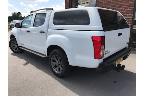 D-Max Blade Double Cab 4x4 Pick Up Glazed Canopy NO VAT 2.5 4dr Pickup Automatic Diesel