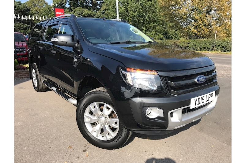 Ranger Wildtrak 4X4 Double Cab Pick Up Fitted Glazed Canopy NO VAT 3.2 4dr Pickup Automatic Diesel