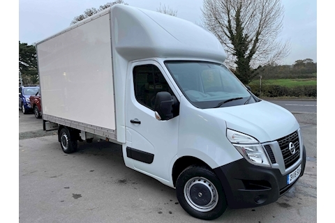 Nissan NV400 F35 L3 125 SE 13ft 6 Luton Box with Tail Lift 3.5 Tonne