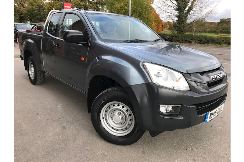 D-Max Extended Cab 4x4 Pick Up 2.5 4dr Pickup Manual Diesel