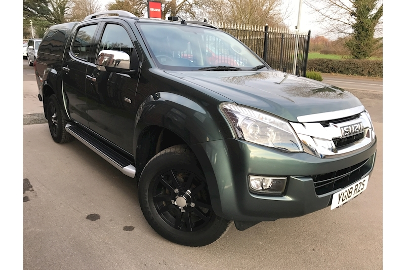 D-Max Utah Vision Double Cab 4x4 Pick Up Fitted Canopy 2.5 4dr Pickup Manual Diesel
