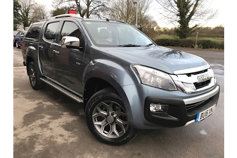 Isuzu D-Max Utah Vision Double Cab 4x4 Pick Up Gitted Glazed Canopy