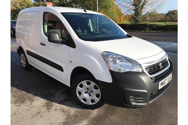 Peugeot Partner Professional L1 Blue Hdi 100 Nav Euro 6 1.6 5dr Panel Van Manual Diesel White