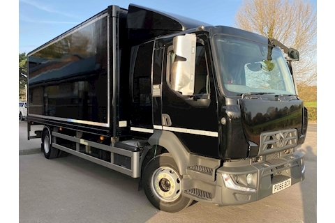 Renault Range D D14 240 14 Tonne Sleeper Cab Box Van 4x2 with Tail Lift
