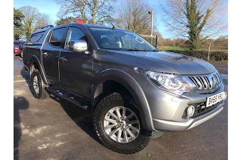 Mitsubishi L200 Warrior 180 Di-d Double Cab 4x4 Pick Up Fitted Glazed Canopy