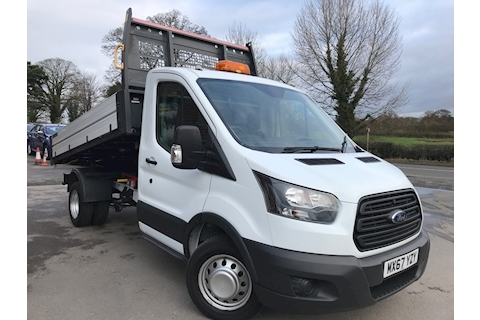 Ford Transit 350 EcoBlue 130 PS Single Cab Tipper RWD L3 H1 EURO 6 DRW