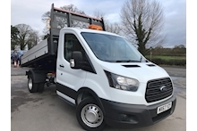 Ford Transit 350 EcoBlue 130 PS Single Cab Tipper RWD L3 H1 EURO 6 DRW 2.0 - Thumb 0