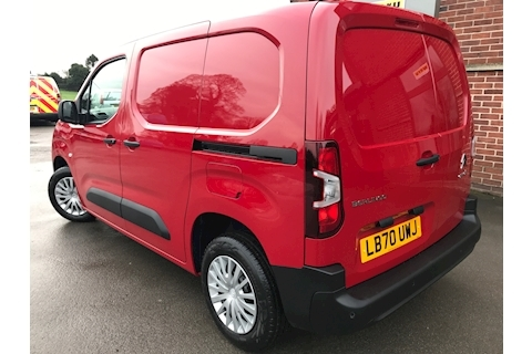 2020 70 Citroen Berlingo Enterprise L1 M 650 Blue Hdi Euro 6 1.5 5dr Panel Van Manual Diesel Red