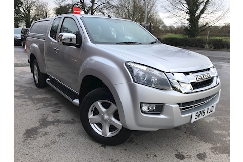 Isuzu D-Max Yukon Extended Cab 4x4 Pick Up Fitted Canopy