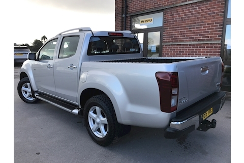 D-Max Utah Vision Auto Double Cab 4x4 Pick Up 2.5 4dr Pickup Automatic Diesel